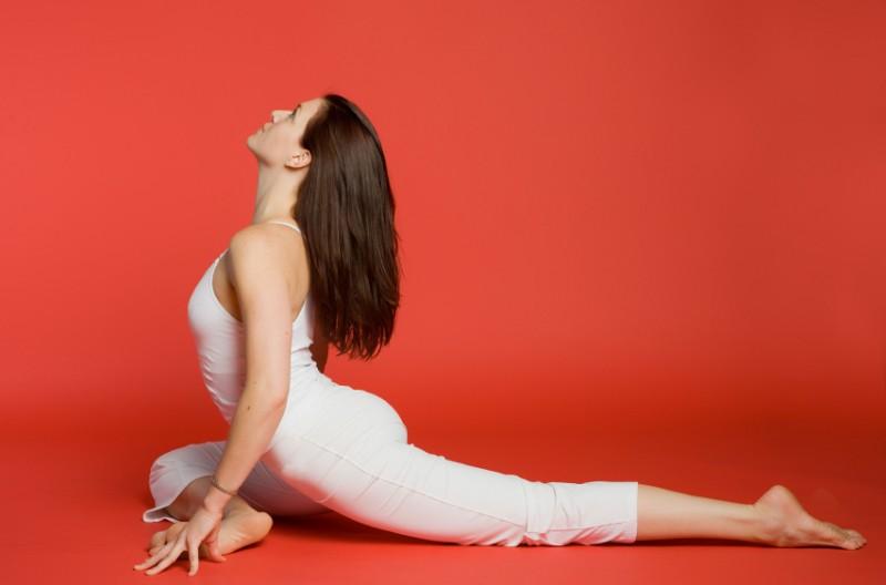 Bài tập yoga chim bồ câu