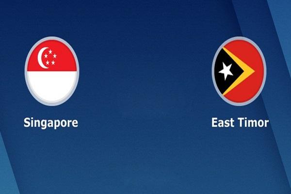Nhận định Singapore vs Đông Timor