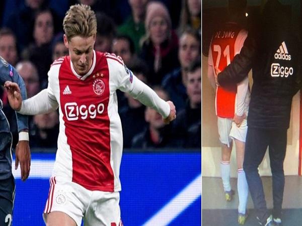 Frenkie de Jong chấn thương trước trận lượt về