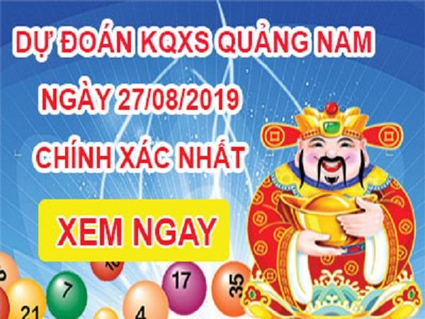 Tổng hợp soi cầu xổ số Quảng Nam ngày 27/08 chuẩn xác