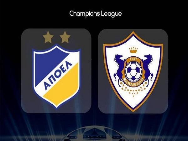 Phân tích kèo APOEL Nicosia vs Qarabag, 0h00 ngày 7/08