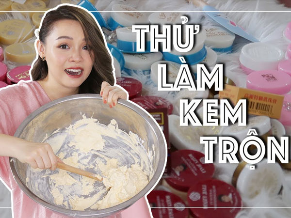 Cách làm kem trộn trắng da mặt tại nhà hiệu quả