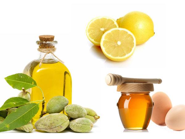 Mặt nạ dưỡng da dầu oliu, chanh, mật ong