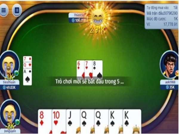 Cách chơi game bài tiến lên 6 lá hiệu quả và những thuật ngữ trong bài 6 lá
