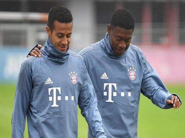 Thiago và Alaba là 2 cái tên Bayern muốn ký hợp đồng mới.