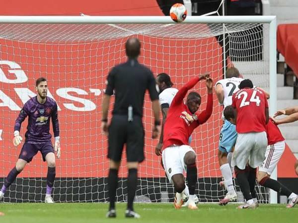 Harry Maguire nói về sai lầm của Pogba trong trận gặp West Ham