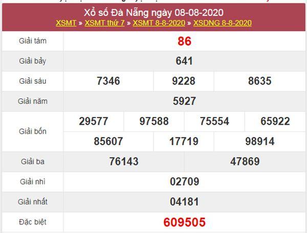 Soi cầu KQXS Đà Nẵng 12/8/2020 thứ 4 siêu chuẩn xác