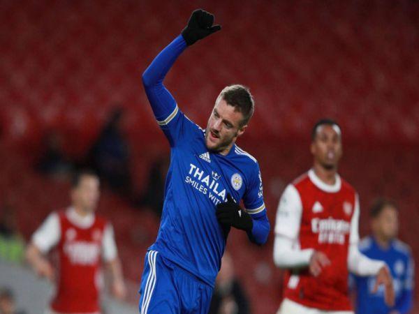 Bóng đá QT sáng 26/10: Arsenal thua Leicester 0-1 trên sân nhà