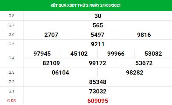 Soi cầu dự đoán xổ số Đồng Tháp 31/5/2021 chuẩn xác
