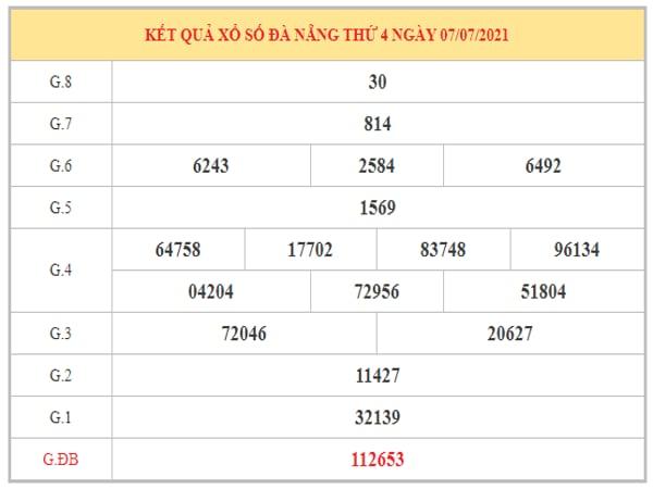 Nhận định KQXSDNG ngày 10/7/2021 dựa trên kết quả kì trước
